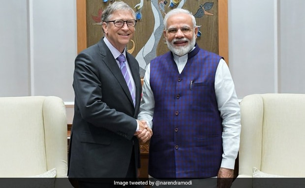 PM Modi Meets Bill Gates, Praises His 'Innovative Zeal, Grassroots Work'