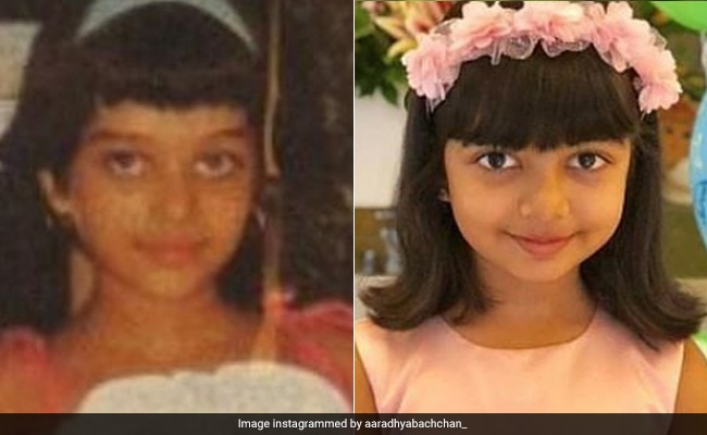 Children's Day 2019: Fans Dig Out Aishwarya Rai Bachchan's Childhood Pic. Looks Just Like Aaradhya, No?