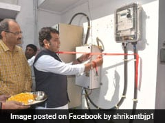 UP Power Minister Sets Example, Installs Prepaid Electricity Meter At Home
