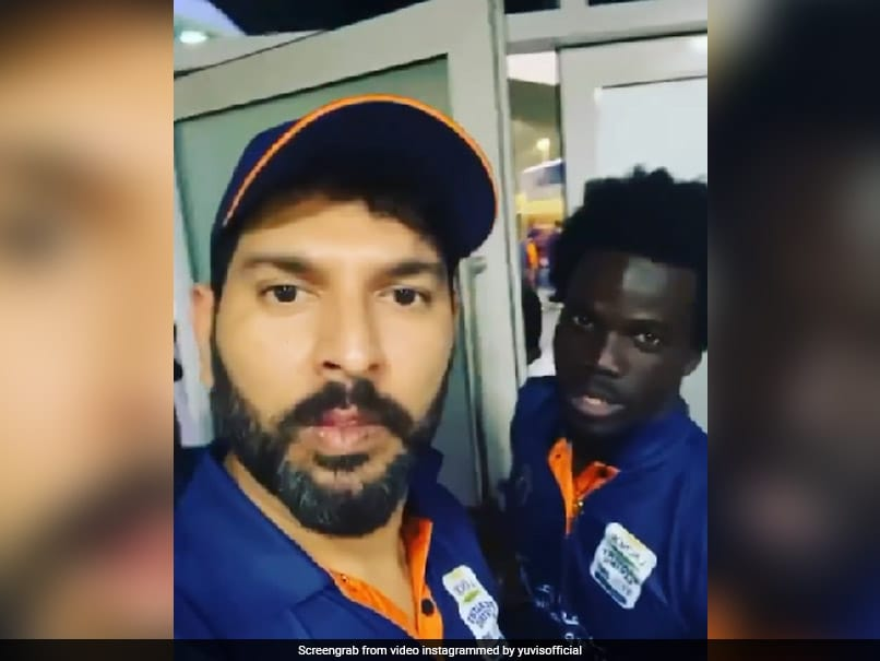 T10 League: Yuvraj Singh Makes West Indies Player Speak In Punjabi. Watch