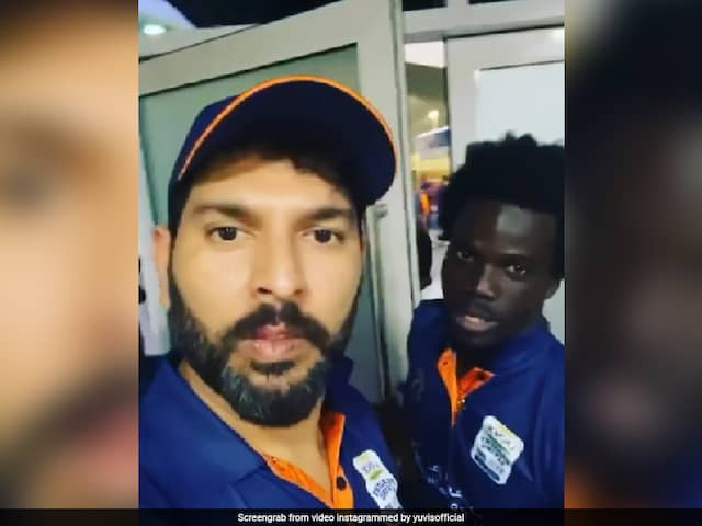 Yuvraj Singh Makes West Indies Player Speak In Punjabi, Fans Love It. Watch
