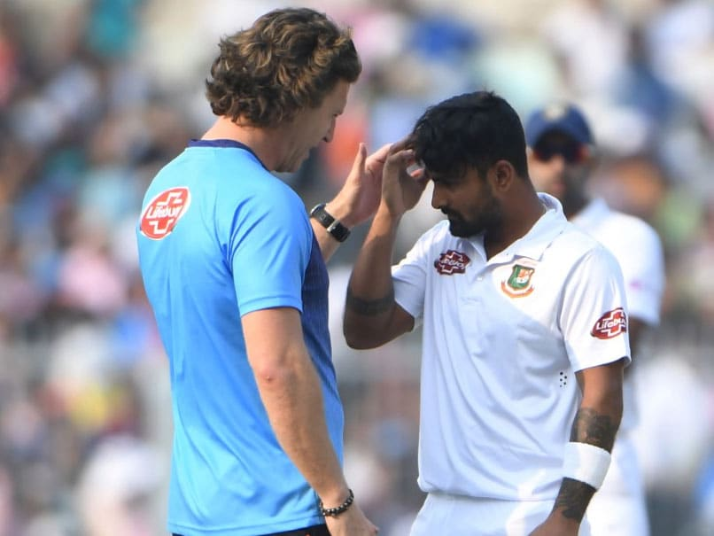 IND Vs BAN 2nd Test Day 1: Liton Das suffers concussion as Mehidy Hasan comes on as substitute