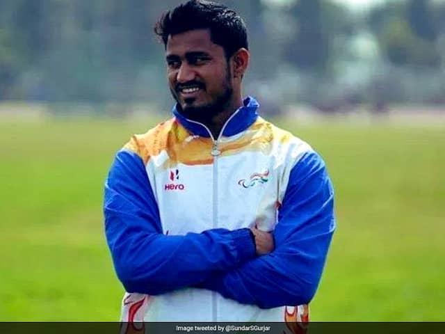 Sundar Singh Gurjar Wins Gold In World Para Athletics Championships