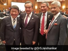 S Jaishankar Holds Meetings With Counterparts From Japan, China, Singapore