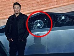 """""""Oh My F**** God"""": Elon Musk As Tesla Truck's Shatterproof Glass Breaks At Launch"""