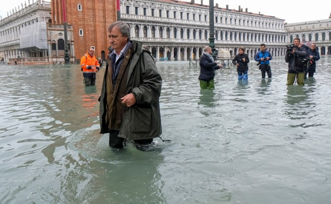 Devastating Floods In Venice 'The Result Of Climate Change', Says Mayor