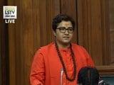 Video : BJP MP Pragya Thakur Calls Nathuram Godse 'Patriot' In Lok Sabha