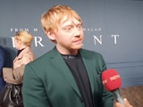 Video : Rupert Grint Thanks All <i>Harry Potter</i> Fans At The Premiere Of <i>Servant</i>