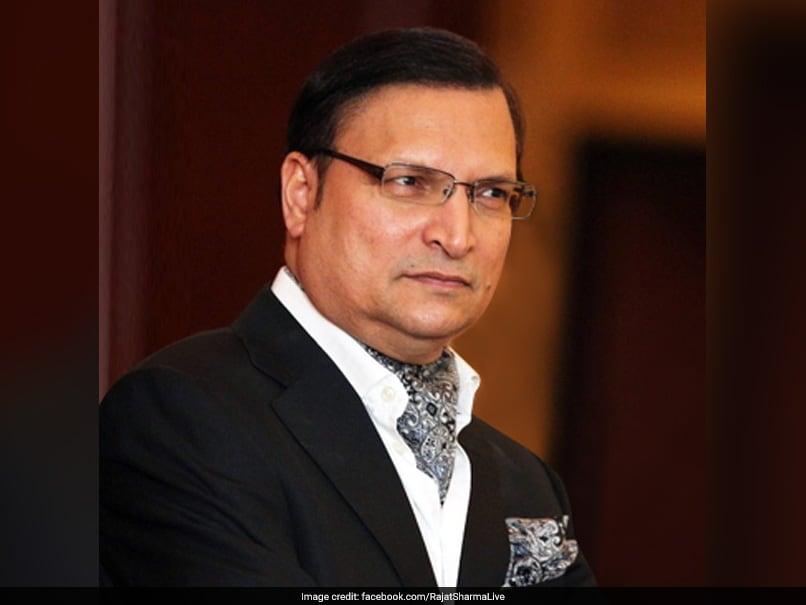 DDCA Chief Rajat Sharma