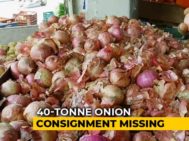 Video : Onions Worth Rs. 22 Lakh Stolen From Transport Truck As Prices Skyrocket
