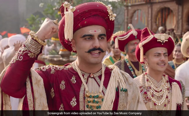 Panipat Song  Mard Maratha: Arjun Kapoor's Shout Out To The Power Of Marathas