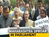 "Video : Woman MPs ""Manhandled"": Congress After Clash With Marshals In Parliament"