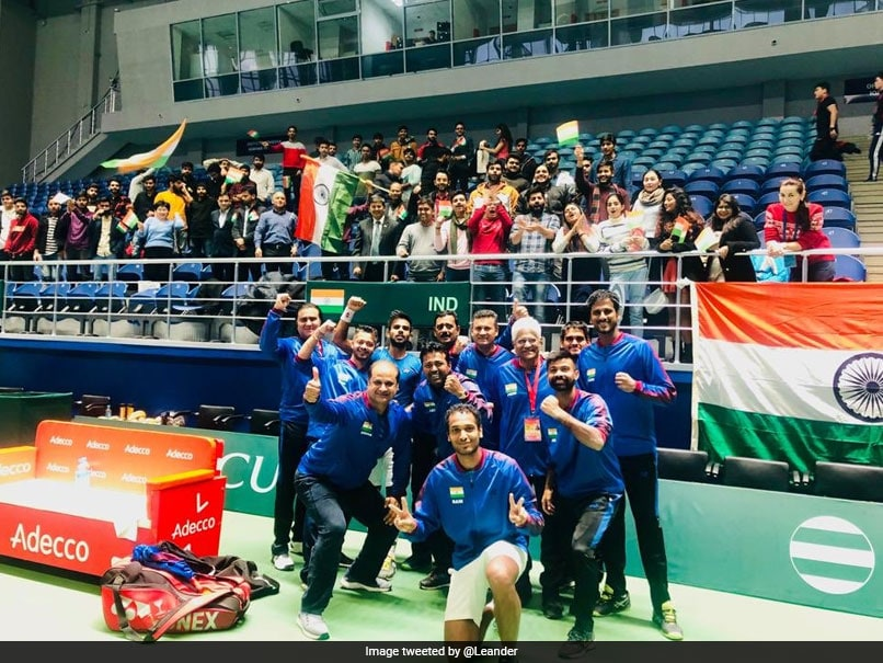 Davis Cup: Leander Paes Betters Own World Record As India Crush Pakistan 4-0