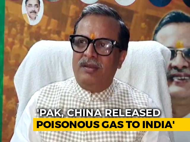 Video : Pak May Have Released Poisonous Gas To Pollute Air In India: BJP Leader