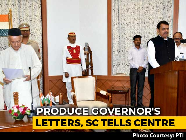 Video : No Maharashtra Floor Test For Now, Top Court Asks For 2 Letters Tomorrow