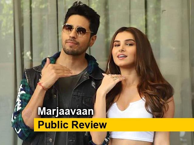 Videos : Marjaavaan Public Review: जनता से जानें कैसी है Sidharth Malhotra और Riteish Deshmukh की फिल्म