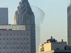 The Mysterious Case Of Water Gushing From Philadelphia Skyscraper