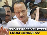 Video : Sharad Pawar Waited 10 am To 7:30 pm For Congress Letter: Ajit Pawar