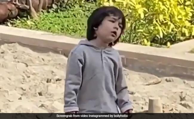 तैमूर अली खान का Video हुआ वायरल, छोटे नवाब ने फिर दिखाया एटीट्यूड, बोले- मैं नहीं करूंगा...
