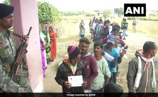Brother-Sister Cast Vote Amid Wedding Ceremony In Jharkhand Election