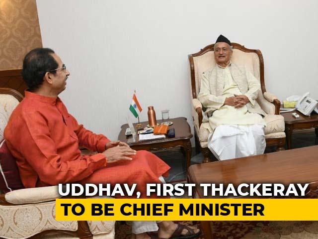 Video : Uddhav Thackeray Meets Governor, Oath At Shivaji Park Tomorrow