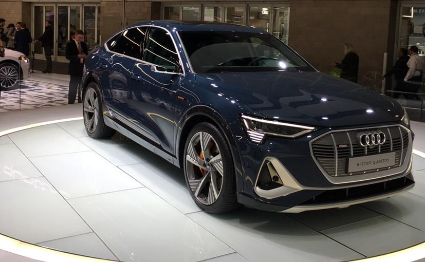 The Audi e-tron Sportback boasts of a range of 446 km on a single charge