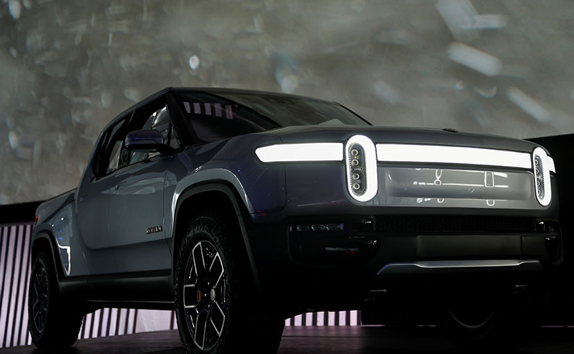 The Rivian RT1 is an electric pick up truck which will go into production next year