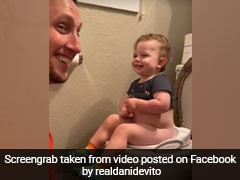 Toddler's Funny Voice Has Dad Crying With Laughter. 39 Million Views For Video