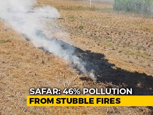 Video : In Punjab, Officials Told To Conduct Field Visits To Curb Stubble Burning