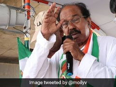 """Not A Dissident Meeting"": Congress's Veerappa Moily On Jammu Meet"