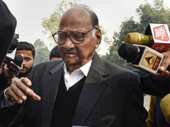 """Vendetta Politics"": Sharad Pawar's Party Says Centre Removed His Security"