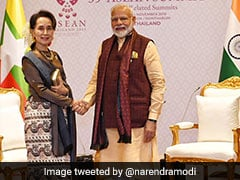 PM Modi Congratulates Aung San Suu Kyi Over Her Party's Election Win