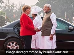 Angela Merkel's Visit To A Delhi Metro Station Today Has A German Link