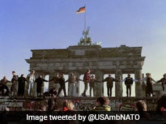 "On Berlin Wall Anniversary, Germany Asks US To Reject ""Egoism"""