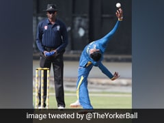 Watch: Sri Lankan Spinner Leaves Fans Baffled With His Version Of