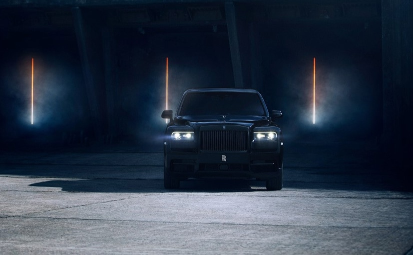 More powerful Rolls-Royce Cullinan Black Badge dark modes the luxury SUV