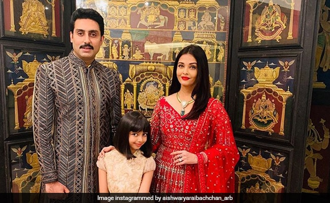 Aishwarya Rai gets royally trolled for applying make-up on Aaradhya (In Pics)