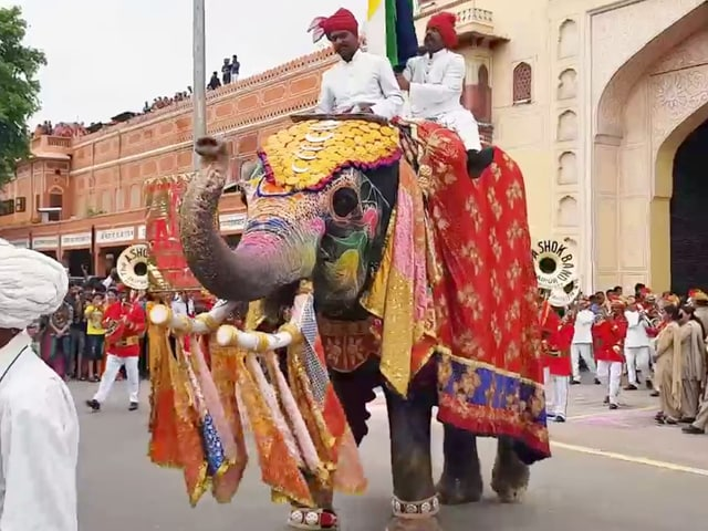 Video : Sponsored: A Look At Jaipur's Teej Celebrations