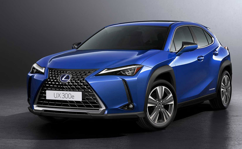 The Lexus UX 300e will be launched in China first and in Europe later in 2020