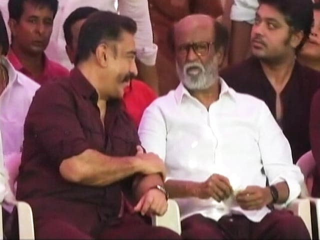 Video : Kamal Haasan, Rajinikanth Hints At Alliance In Tamil Nadu And Other Top Stories