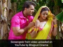 खेसारी लाल यादव और काजल राघवानी की जोड़ी ने फिर मचाया गदर, 1 करोड़ से ज्यादा बार देखा गया Video