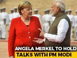 """Video : """"Great Respect For This Country, Its Diversity,"""": Angela Merkel During India Visit"""