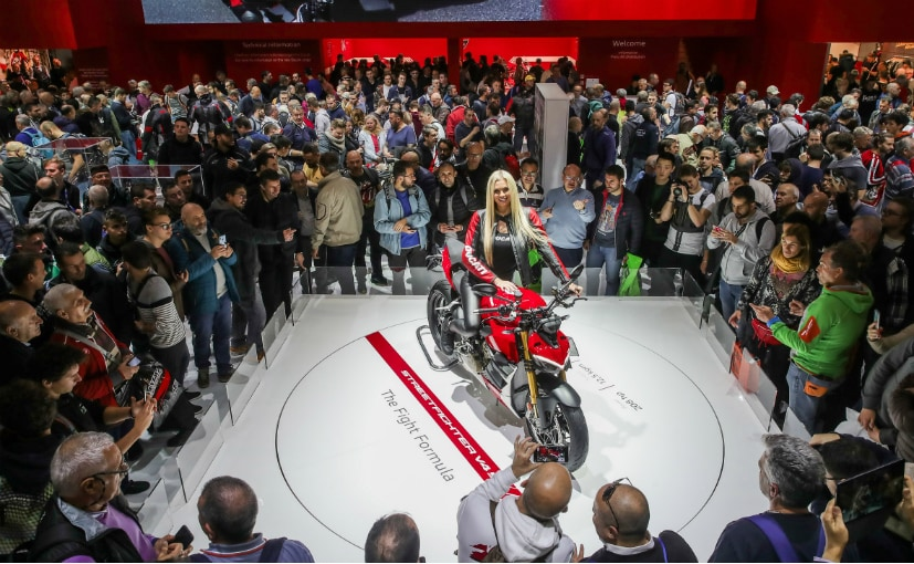 Ducati Streetfighter V4 Elected Most Beautiful Bike At EICMA 2019