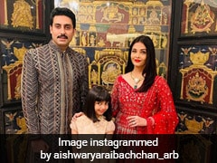 Aishwarya Rai Does It Again! In A Red <i>Anarkali</i> Suit, She Sets Ethnic Goals