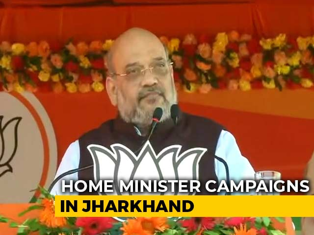 Video : On Jharkhand Campaign, Amit Shah Focuses On Ayodhya, Kashmir