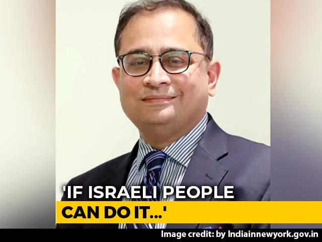 """Video : """"If Israeli People Can Do It..."""": Row Over Indian Diplomat's J&K Remarks"""