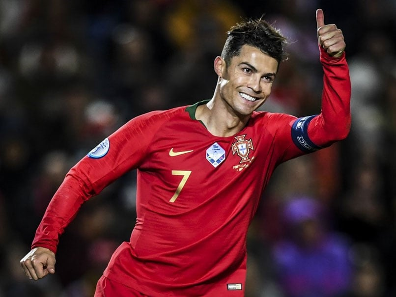 Sports Home Football News Cristiano Ronaldo Hat-Trick Fires Portugal To Brink Of Euro 2020 Qualification