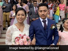 """Wishes To Newly-Weds"": PM Congratulates MP Agatha Sangma On Her Wedding"