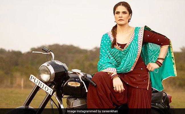 जरीन खान बुलेट की सवारी करती आईं नजर, सोशल मीडिया पर Pics वायरल