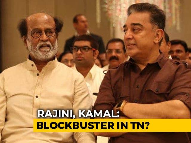 Video : Rajinikanth, Kamal Haasan Tease Blockbuster Alliance For Tamil Nadu